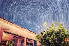 Star trails  Photo By #Dr_Ebrahem_Habibeh  دوران الأرض حول نجم الشمال   الأرض حول نجم الشمال (ebrahemhabibeh) Tags: drebrahemhabibeh star stars startrail polaris north night darksky