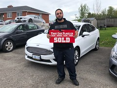 2017 Ford Fusion #5119 Ali's deal
