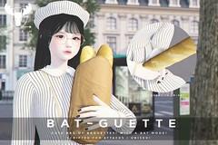 Bat-Guette @ TLC (MistahMoose) Tags: baguettes weapon secondlife second life sl tlc