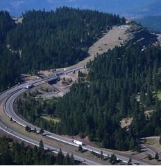 I-5 Siskiyou Summit Oregon (OregonDOT) Tags: i5 siskiyousummit oregon oregondot scenic traffic curves hills incline freight road trees or273