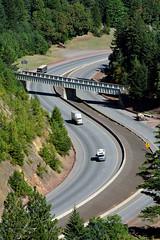 I-5_MP_7_ CORP_ restle (OregonDOT) Tags: i5 oregon oregondot scenic traffic curves hills incline freight road trees cones safety roadwork stateofthesystem downhill