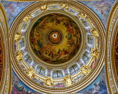Whenever God Shines His Light (_Robert C_) Tags: architecture russia cupola dome saintpetersburg d800 saintissacscathedral sigma 2470mm