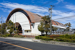 貝塚市立総合体育館 (m-louis) Tags: 6713mm j5 nikon1 architecture japan kaizuka osaka 大阪 建築 日本 貝塚 貝塚市立総合体育館 gymnasium