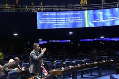 Plenário do Congresso (Senado Federal) Tags: plenário sessãosolene congressonacional emendaconstitucional ec1012019 militar senadormarcosrogériodemro paineleletrônico brasília df brasil