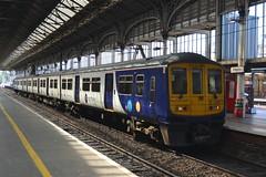 Arriva Northern Rail Class 319 319384 - Preston (dwb transport photos) Tags: arriva northernrail emu 319384 preston