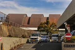 貝塚市立総合体育館 (m-louis) Tags: 32mm j5 nikon1 architecture japan kaizuka osaka 体育館 大阪 建築 日本 貝塚 貝塚市立総合体育館 gymnasium