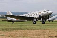 Douglas C-53 JM AIR LLC N8336C 07313 Wiesbaden juin 2019 (Thibaud.S.) Tags: douglas c53 jm air llc n8336c 07313 wiesbaden juin 2019