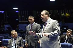 Plenário do Congresso (Senado Federal) Tags: congressonacional deputadopauderneyavelinodemam ec1012019 emendaconstitucional militar plenário senadormarcosrogériodemro senadoromarazizpsdam sessãosolene brasília df brasil