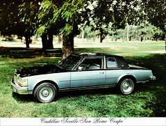 1978 Cadillac Seville San Remo Coupe by Coach Design Group (aldenjewell) Tags: 1978 cadillac seville san remo coupe coach design group brochure