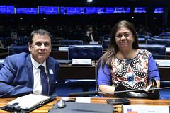 Plenário do Congresso (Senado Federal) Tags: plenário sessãosolene congressonacional emendaconstitucional ec1012019 militar deputadalauracarneirodemrj brasília df brasil