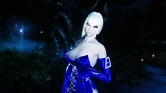 Edina Ferwind (XMymy007X) Tags: skyrim enb tesv lady sexy blue latex