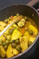 Latifa's tajine! (domit) Tags: homemade belgium wemmel dinner food rental house nanny tajine latifa