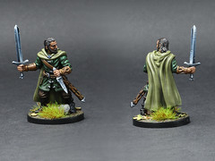 Lord of The Ring - Journeys in Middle Earth - Aragorn 2 (PeteB187) Tags: ffg fantasyflightgames fantasy tabletopgame boardgames miniature miniatures mini model painting painted paint 32mm tolkien