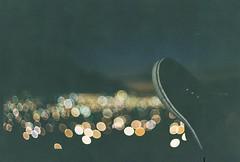 D067677-R1-08-8A (IrvLephunk) Tags: sun sunset nature city plants discoball disco scattered sky orange car mountain mountains huasteca monterrey nuevoleon antena nofilter noprocess raw 35mm film filmphotography bluesky silouhette