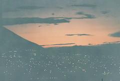 D067677-R1-07-7A (IrvLephunk) Tags: sun sunset nature city plants discoball disco scattered sky orange car mountain mountains huasteca monterrey nuevoleon antena nofilter noprocess raw 35mm film filmphotography bluesky silouhette