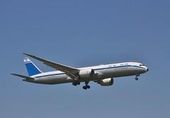 EL AL Israel Airlines 4X-EDF (Northern Transport Photos) Tags: elalisraelairlines