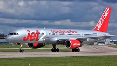 G-LSAH (AnDyMHoLdEn) Tags: jet2 757 egcc airport manchester manchesterairport 23l
