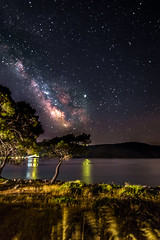 Milky Way rises over the sea (Vagelis Pikoulas) Tags: milky milkyway rises sea seascape landscape summer july 2019 tokina 1628mm view nature canon 6d stars star universe space niceshot night nightscape sky skyscape dark