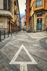 Arrow Martzana (orkomedix) Tags: canon eosr rf24105f4l arrow manzana bilbao street outdoor city architecture spain basque phototrip