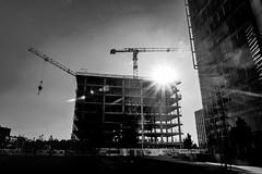 photo (BadSoull) Tags: photo trip prague europe czech city sun buildings black white bnw mirrorless sony a6300