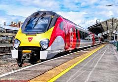 221101 @ Chester (A J transport) Tags: class221 supervoyager dmu 221101 virgin trains westcoast diesel railway england