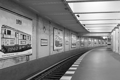 Berlin U-Bahn (majamacanovic) Tags: metro u bahn berlin monochromatic blackandwhite bw railway urban light