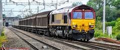 66155 @ Acton Bridge (A J transport) Tags: class66 diesel 66155 freight wcml ews dbcargo railway trains