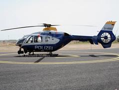D-HBBZ (Ken Meegan) Tags: dhbbz eurocopterec135p2 0269 brandenburgpolice berlin schoenefeld 2852008 ec135 police