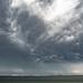 Wolken boven het Marsdiep