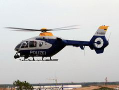 D-HBBY (Ken Meegan) Tags: dhbby eurocopterec135p2 0262 bradenburgpolice berlin schoenefeld 2852008 ec135 police