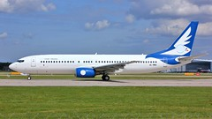 4L-MWA (AnDyMHoLdEn) Tags: mywayairlines 737 egcc airport manchester manchesterairport 23l