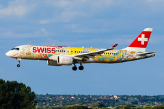 "HB-JCA | Swiss (""Fête des Vignerons 2019 - Fichtre"" livery) | Airbus A220-300 | BUD/LHBP (Tushka154) Tags: hungary specialscheme spotter hbjca ferihegy budapest cs300 fêtedesvignerons2019fichtre swiss bombardier cseries a220 a220300 airbus aircraft airplane avgeek aviation aviationphotography bd5001a11 bombardiercs300 bombardiercseries budapestairport lhbp lisztferencinternationalairport planespotter planespotting spotting"