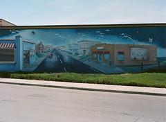 Alviso, California (bior) Tags: alviso sanjose california pentax645nii pentax645 6x45cm portra160vc portra kodakportra mediumformat 120 mural