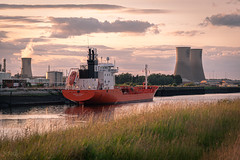 Ship on the Tees, Teeside, UK (KSAG Photography) Tags: merchantnavy ship shipping port harbour river tees teeside middlesbrough industry engineering navalarchitecture urban landscape nikon july 2019 england europe britain unitedkingdom uk