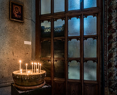 Leaving Candles (Stefan Schafer) Tags: window candles church