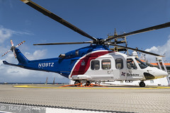 N139TZ AgustaWestland AW139 Bristow Helicopters Normand Installer 19.06-19 (rjonsen) Tags: helicopter helideck parked blue sky boat vessel norman installer solstad offshore rotorcraft