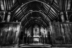 St Stephen church. (Darren Speak) Tags: york bw church village ststephen aldwark symmetry wnpthisismychallengephoto😁