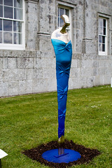 Some art in front of Russborough House. (Vagari) Tags: russboroughhouse russborough anniversary ireland cowicklow
