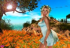 Happyness In My Heart (alexandra sunny) Tags: it salt catwa maitreya aviglam truth secondlife blog blogger fashion female woman landscape flowers