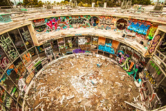 A Different Version of San Francisco (Thomas Hawk) Tags: america california cossonhall sagehall sanfrancisco starburst treasureisland usa unitedstates unitedstatesofamerica abandoned decay graffiti fav10 fav25