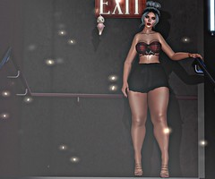 Step Out (V ♪) Tags: truth lelutka adorez mishmish mosquitosway bellezafreya freyacompatibleattire secondlife slevents mainstorerelease curvesevent virtualworld 3d anxiety floorplan rivendale meshdecor