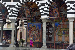 Frescoes, narthex, Nativity of the Virgin Church, Rila Monastery, Rila Mountain, Bulgaria (R-Gasman) Tags: thebalkans frescoes narthex nativityofthevirginchurch rilamonastery rilamountain bulgaria