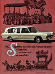 1967 Superior Coaches on Pontiac Chassis (aldenjewell) Tags: 1967 superior pontiac combination limousine brochure
