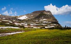 Mt Oberlin (Stephen Gravrock) Tags: hiking landscape glaciernationalpark spring2019montanatrip 17mmf18 mtoberlin montana