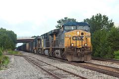 Empty Man (TolgaEastCoast) Tags: csx train u112 richmond virginia cw44ac coal empty newport news sandston