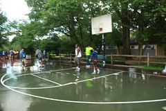 Rain doesn't stop play