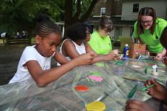 crafts with Girls Village
