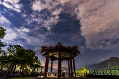 石門嵩台 (BisonAlex) Tags: taiwan sony a73 a7iii a7m3 a7 台灣 外拍 旅拍 travel cloud start night 石門 嵩台