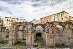 Lecce (Leaning Ladder) Tags: lecce italy italia puglia apulia canon 7dmkii leaningladder