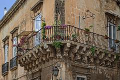 The streets of Lecce (Leaning Ladder) Tags: lecce italy italia puglia apulia street architecture canon 7dmkii leaningladder